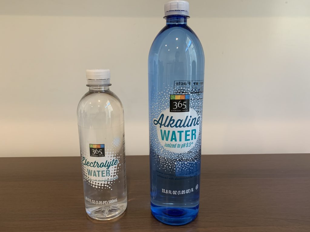 365 Everyday Value Alkaline Water and Electrolyte Water Test