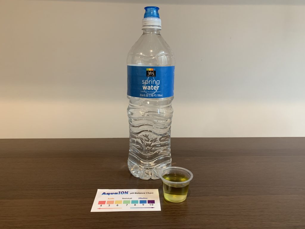 365 Everyday Value Spring Water Result