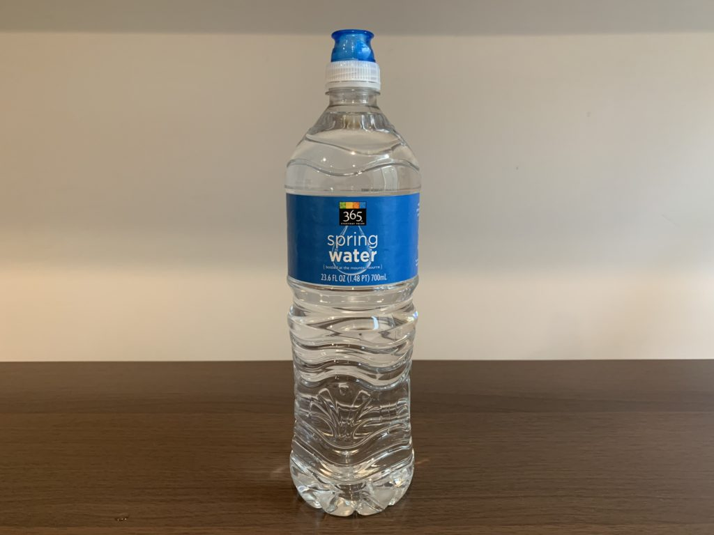 365 Everyday Value Spring Water Test