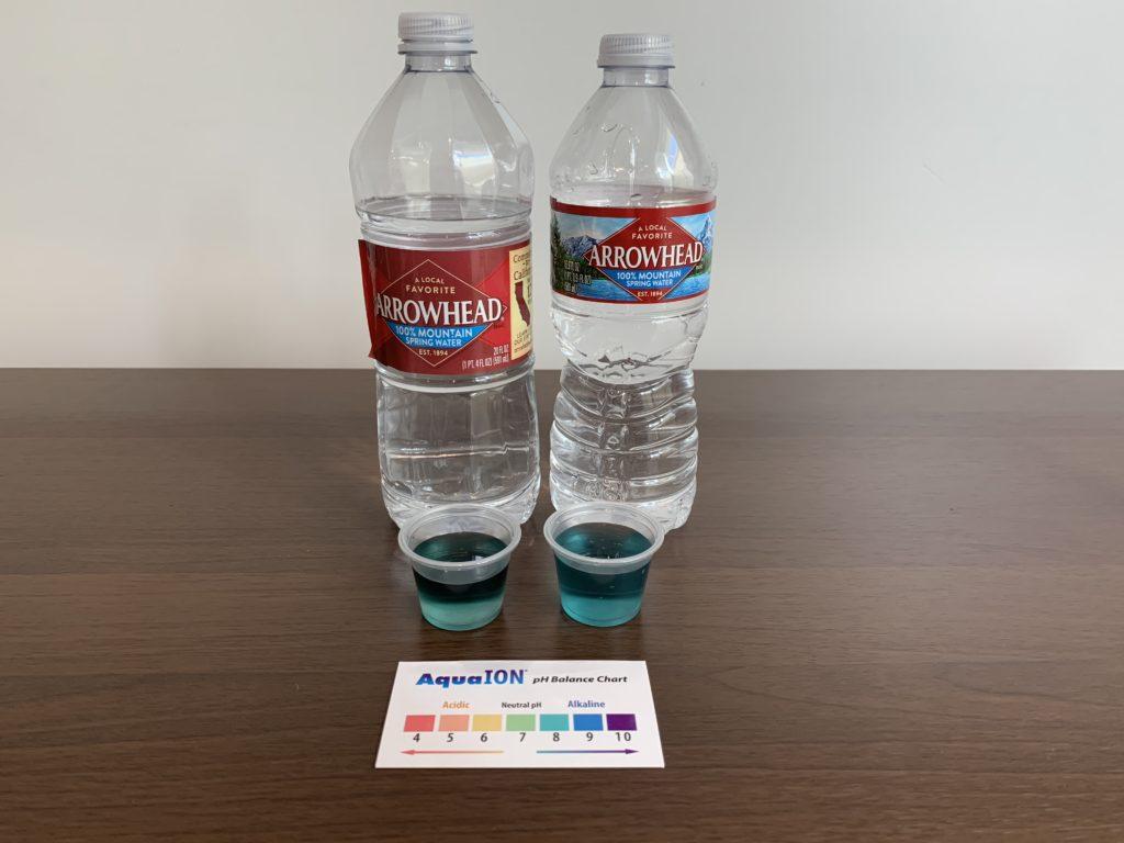 Arrowhead Water Test Results