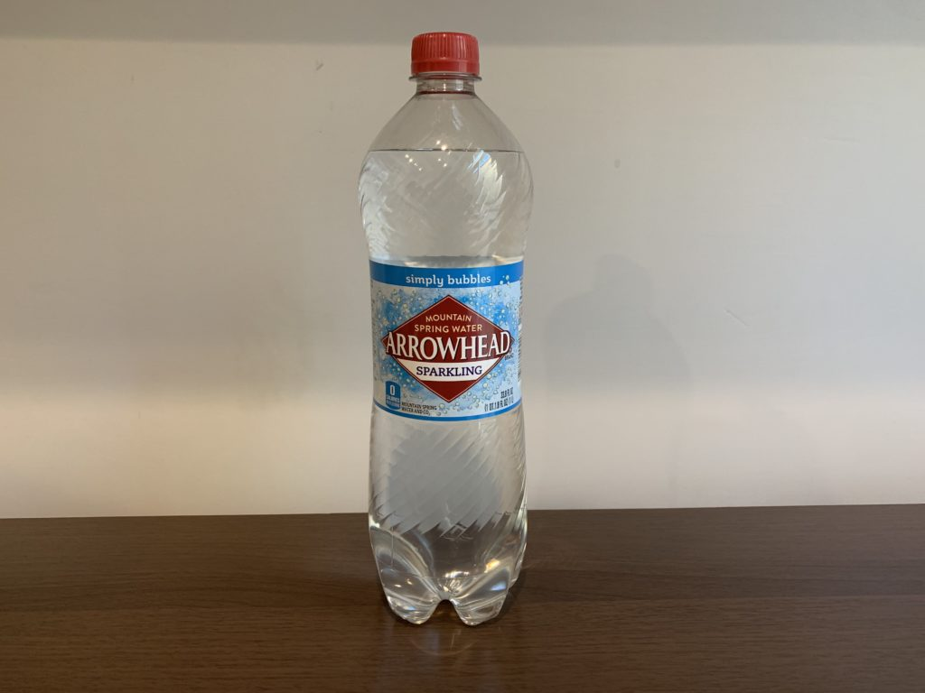 Arrowhead Sparkling Water Test