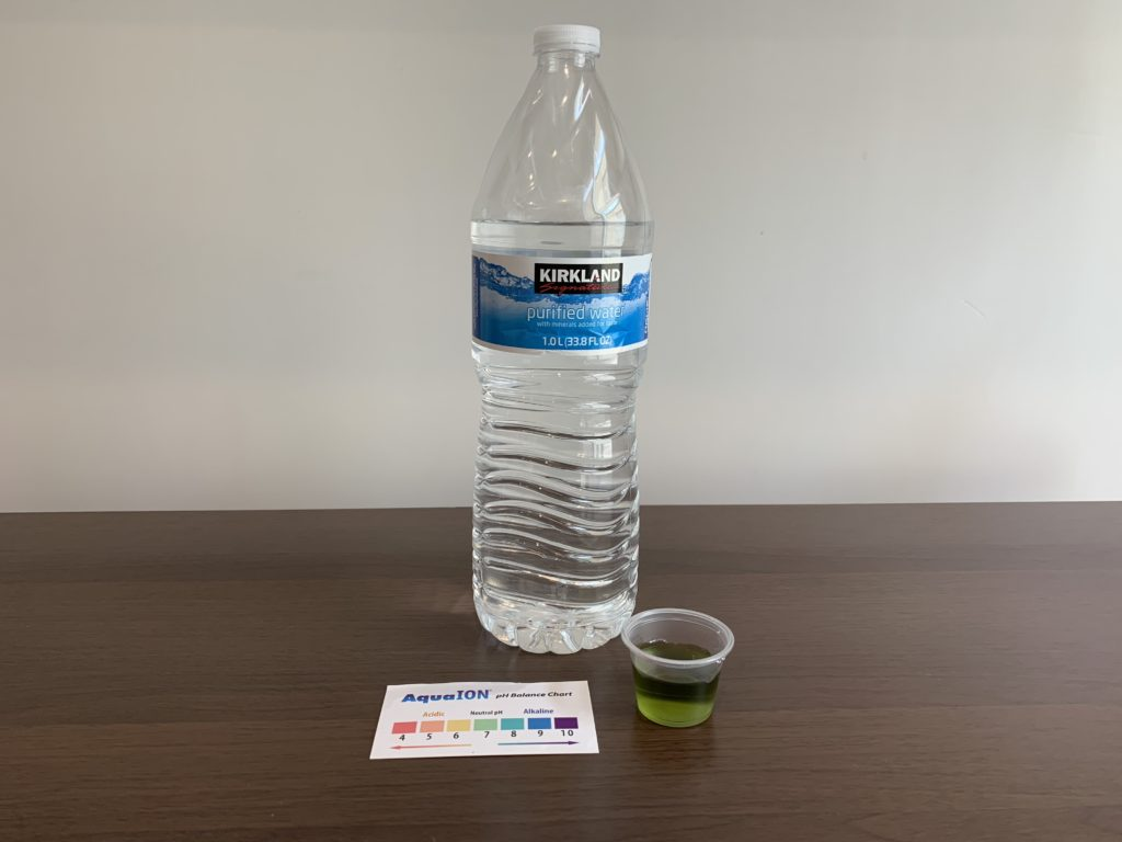 Kirkland Signature Water Test Results