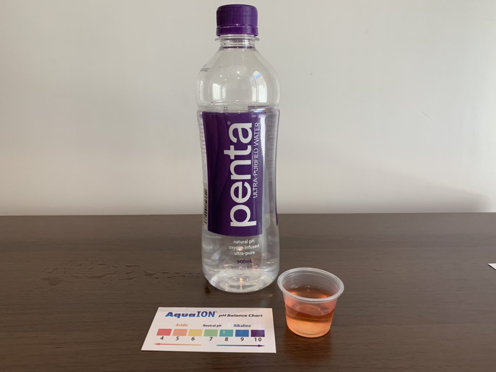 Penta Water Test Results