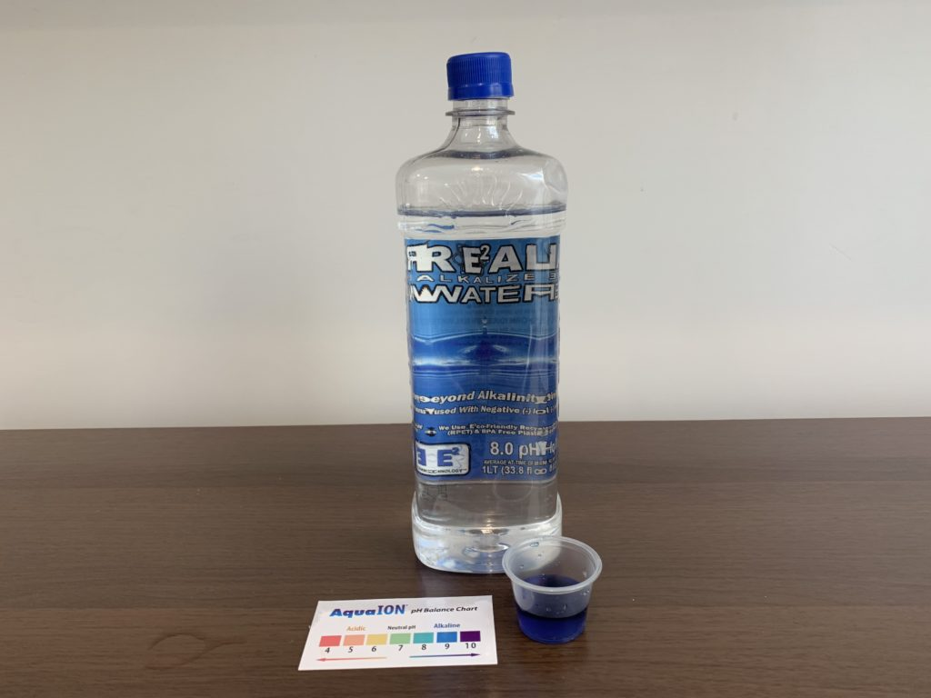Real Water Test Result