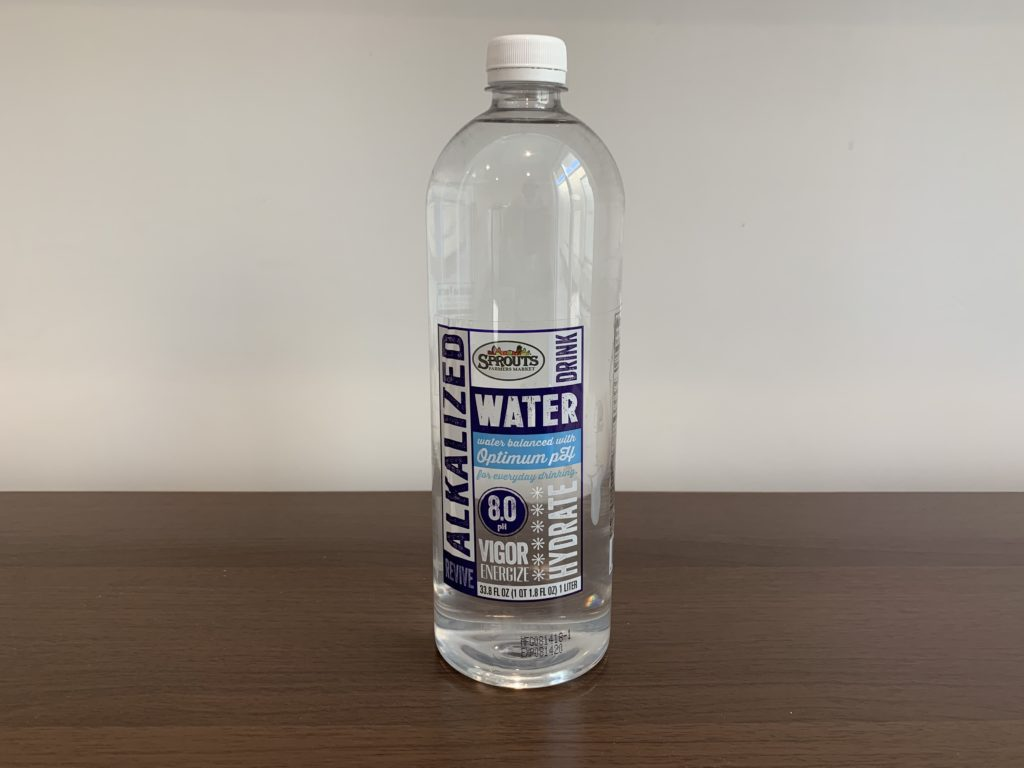 Sprouts Farmers Market Purified Water Test
