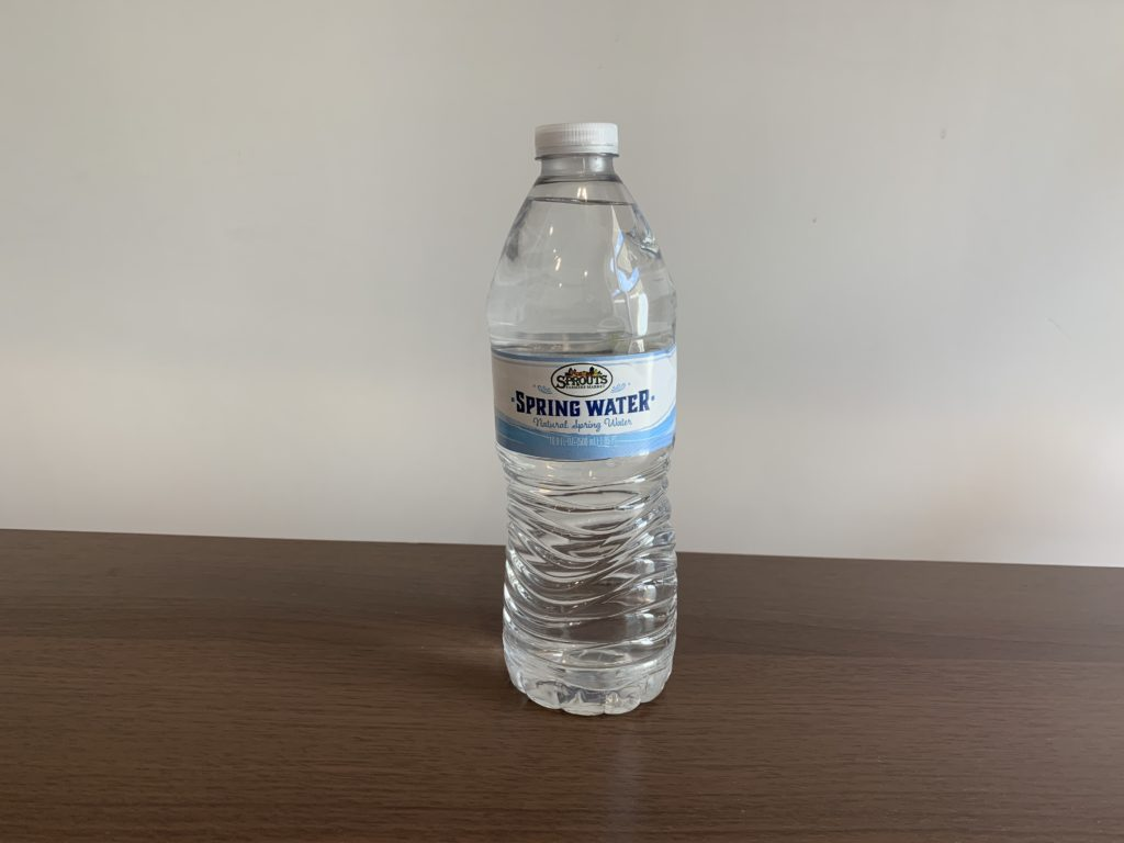 Sprouts Farmers Market Spring Water Test