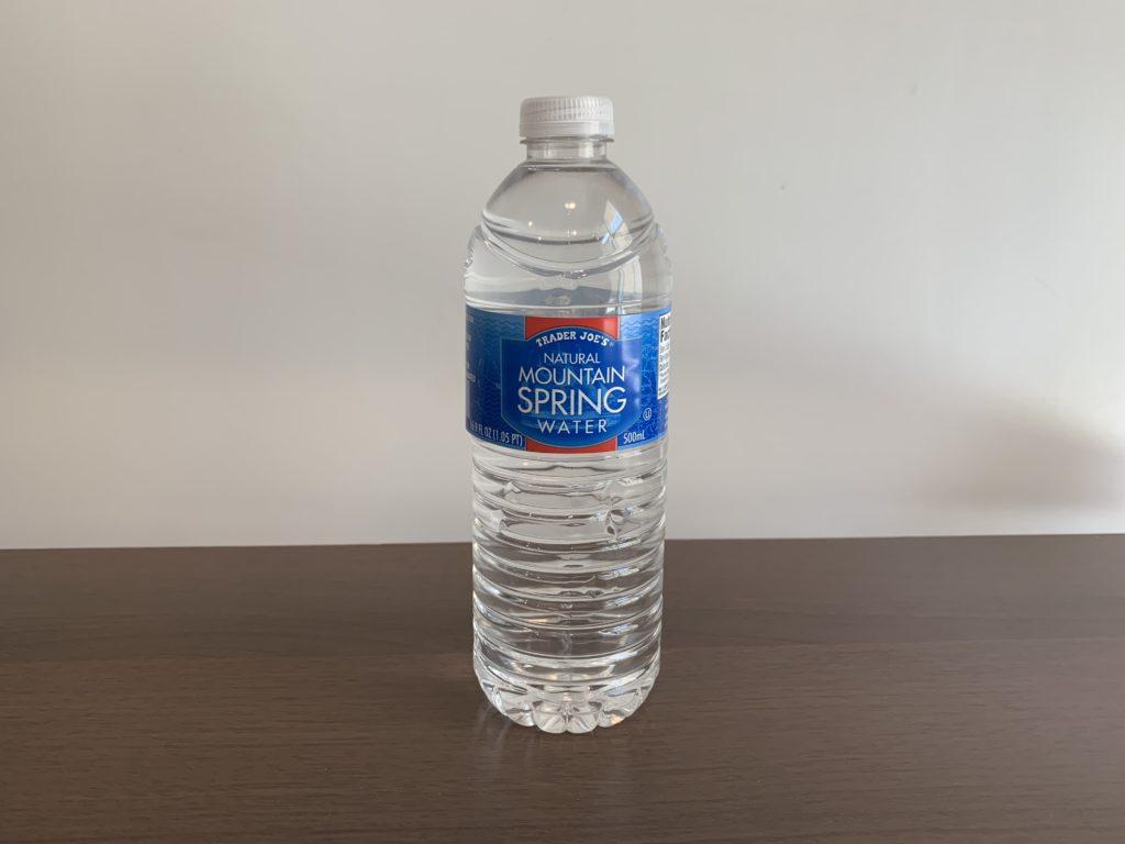 Trader Joe's Natural Mountain Spring Water Test