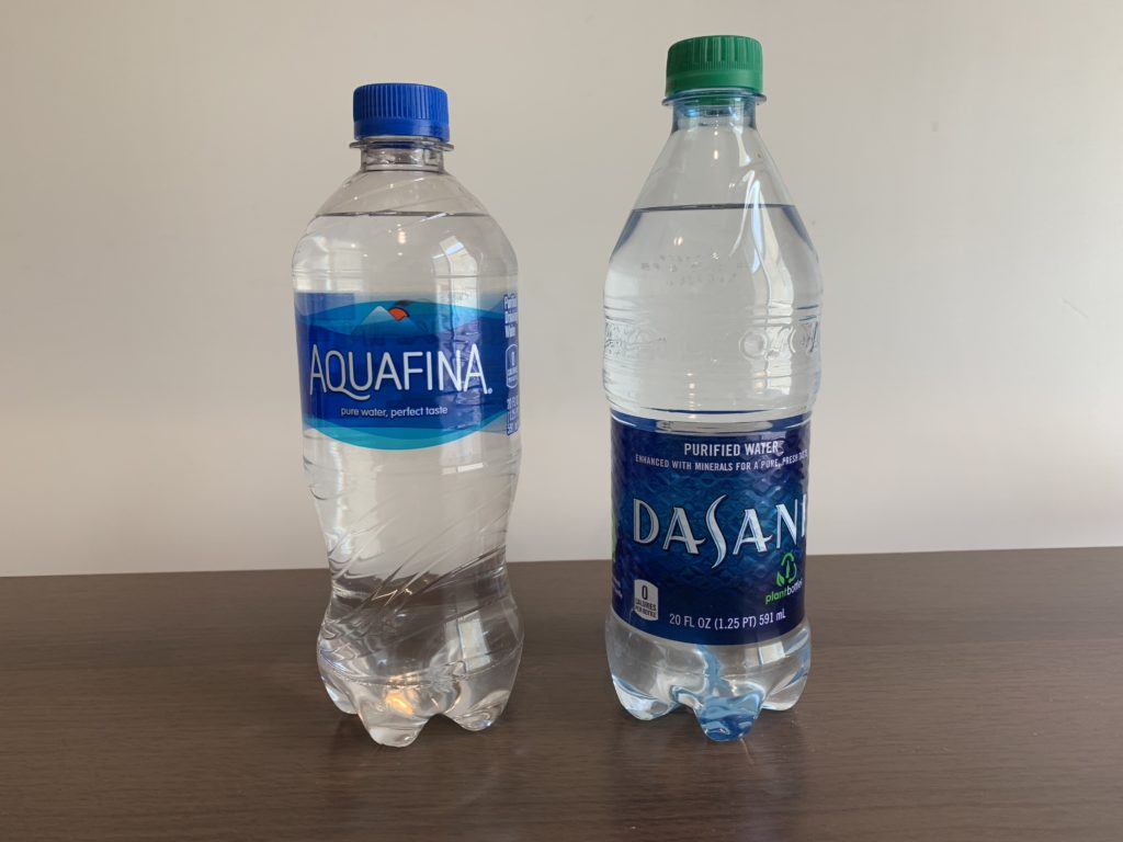 Aquafina Water Test