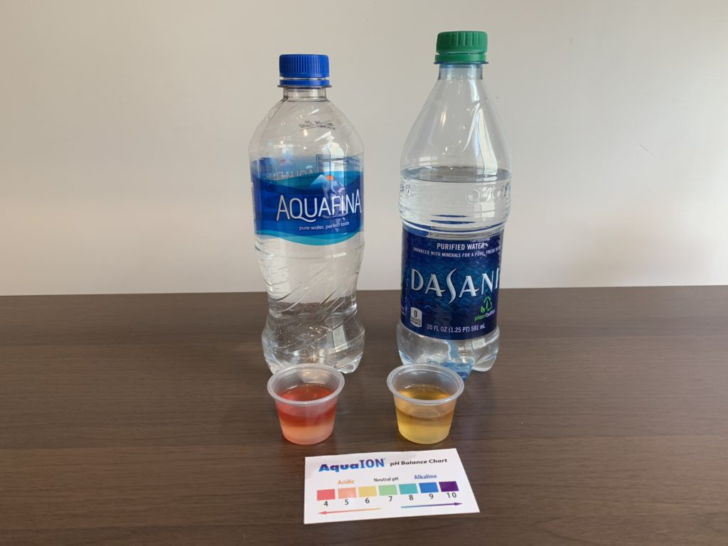 Aquafina Water Test Results