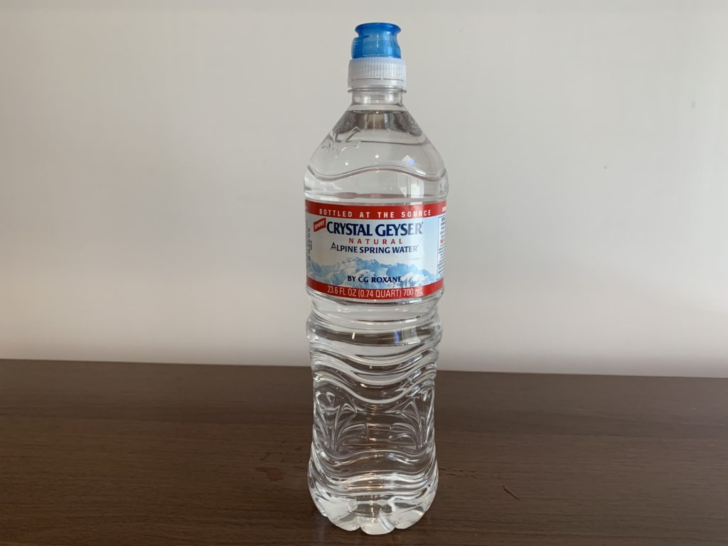 Crystal Geyser Spring Water Test