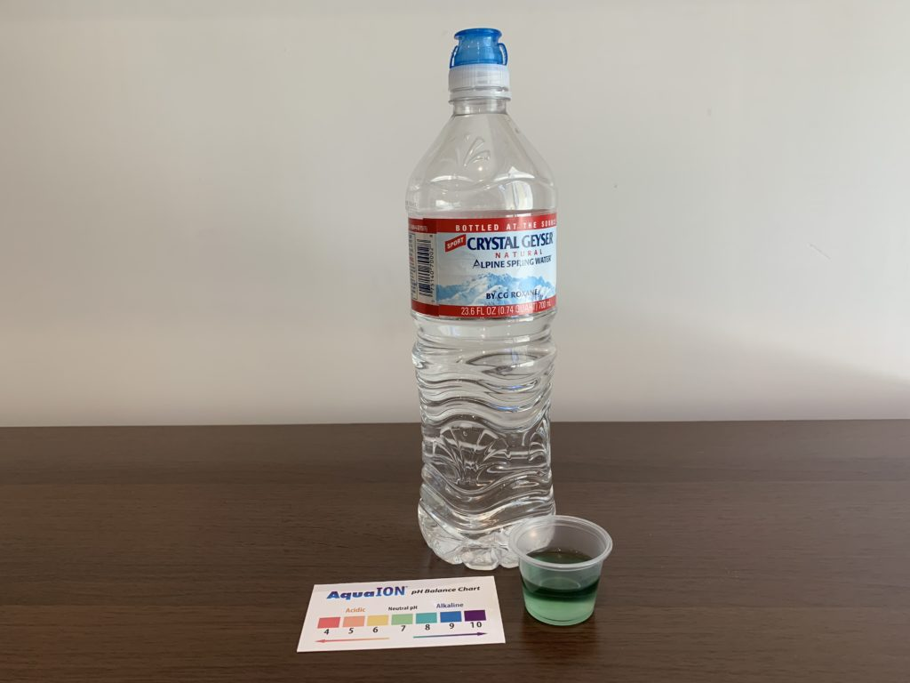 Crystal Geyser Spring Water Test Results