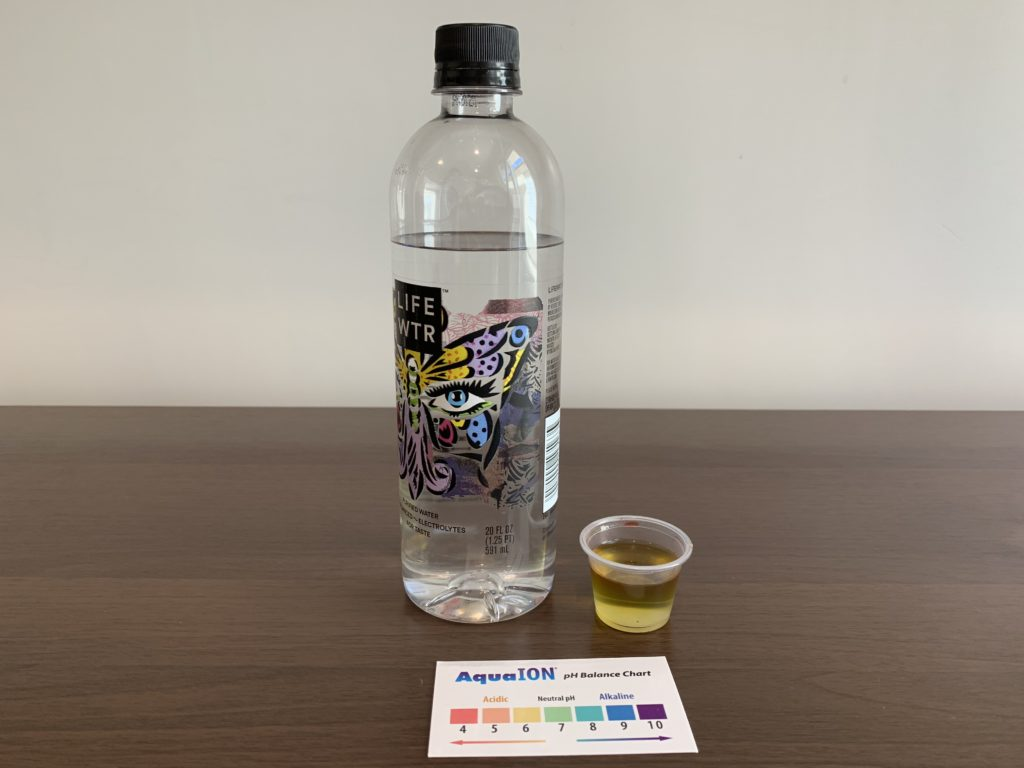 Life WTR Water Test Results