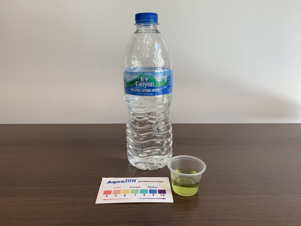 Ice Canyon Water Test Results