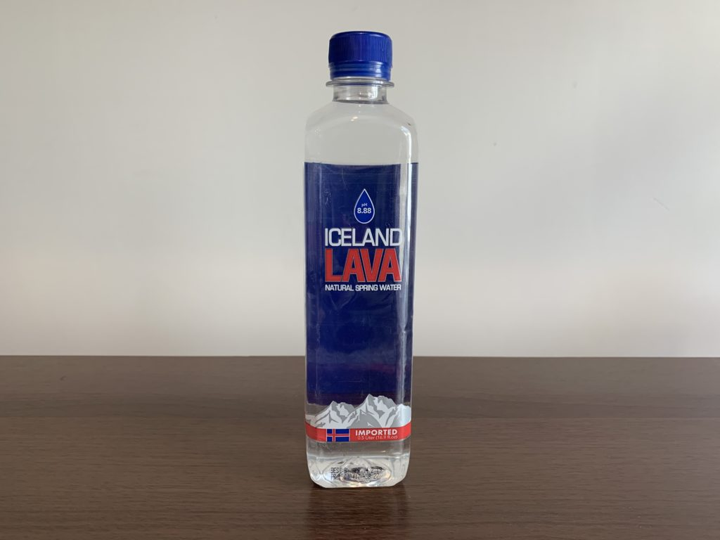 Iceland Lava Water Test