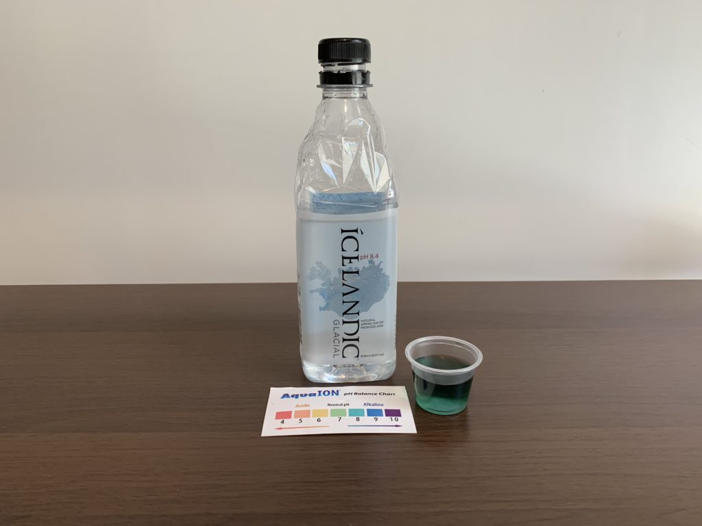 Icelandic Glacial Water Test Results