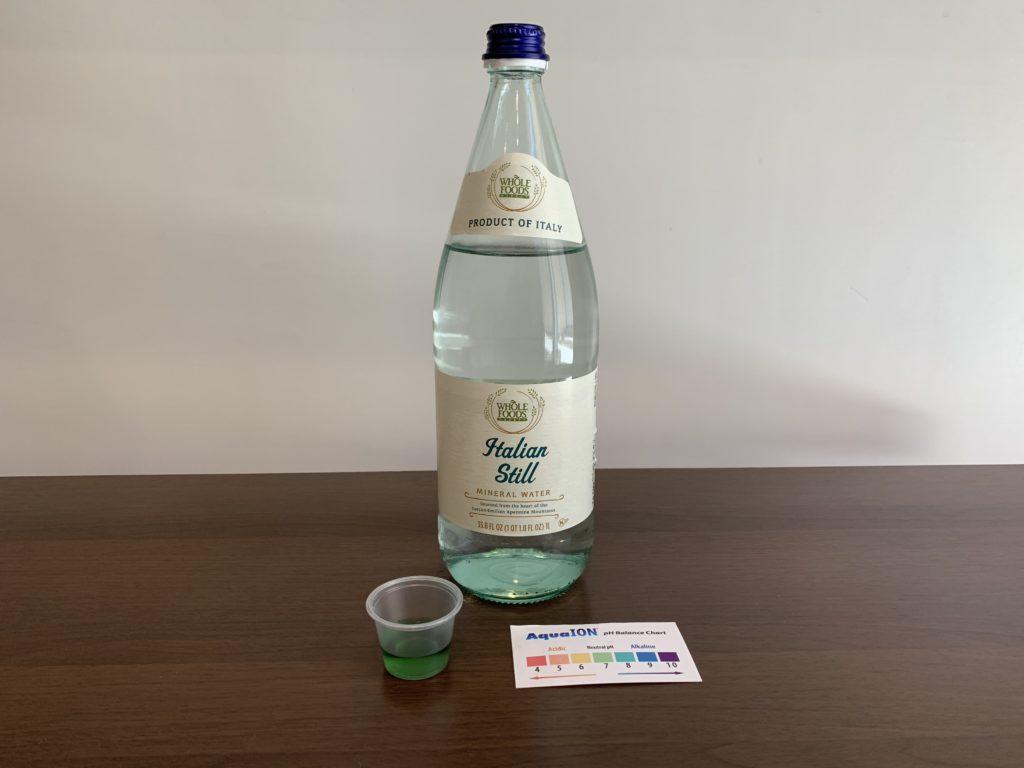 Italian Still Water Test Results