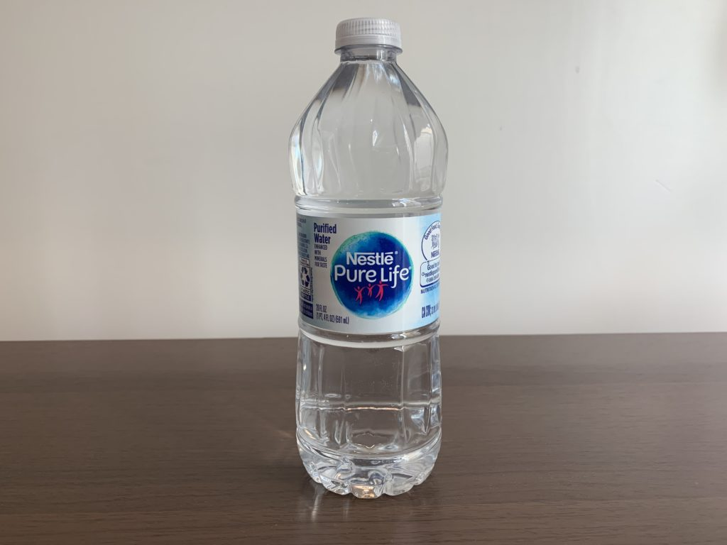 Nestle Pure Life Water Test