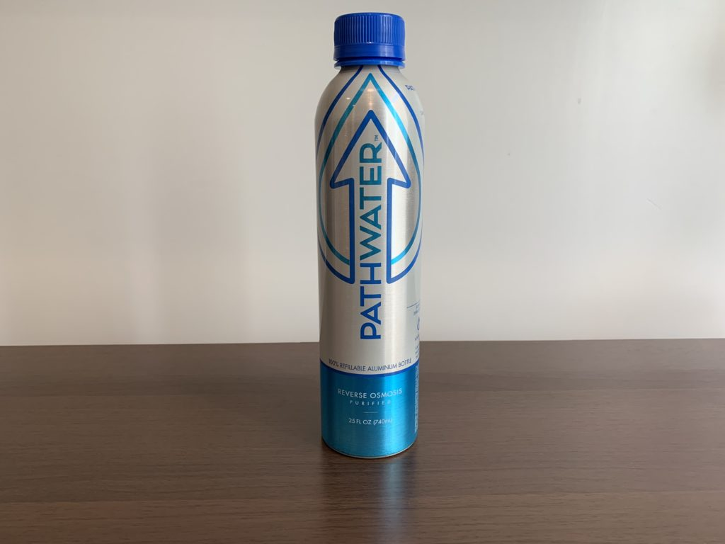 Pathwater Bottled Water Test