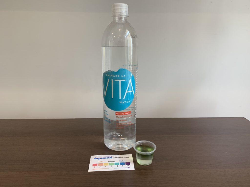 Salvare La Vita Water Test Results