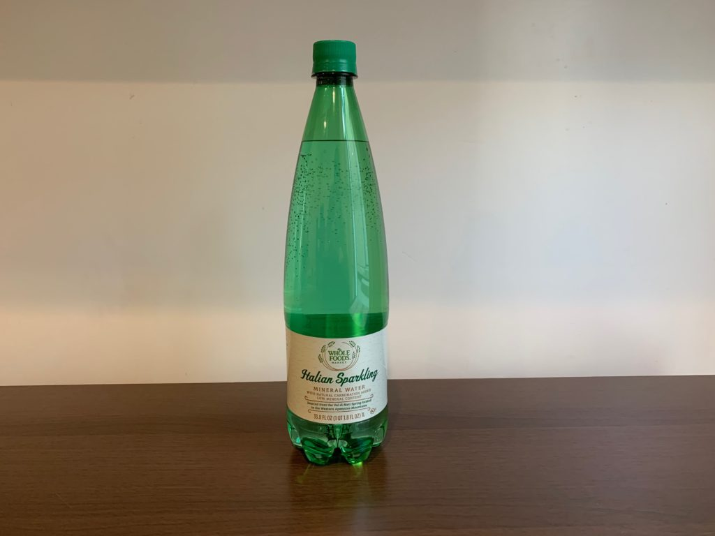 Italian Sparkling Mineral Water Test