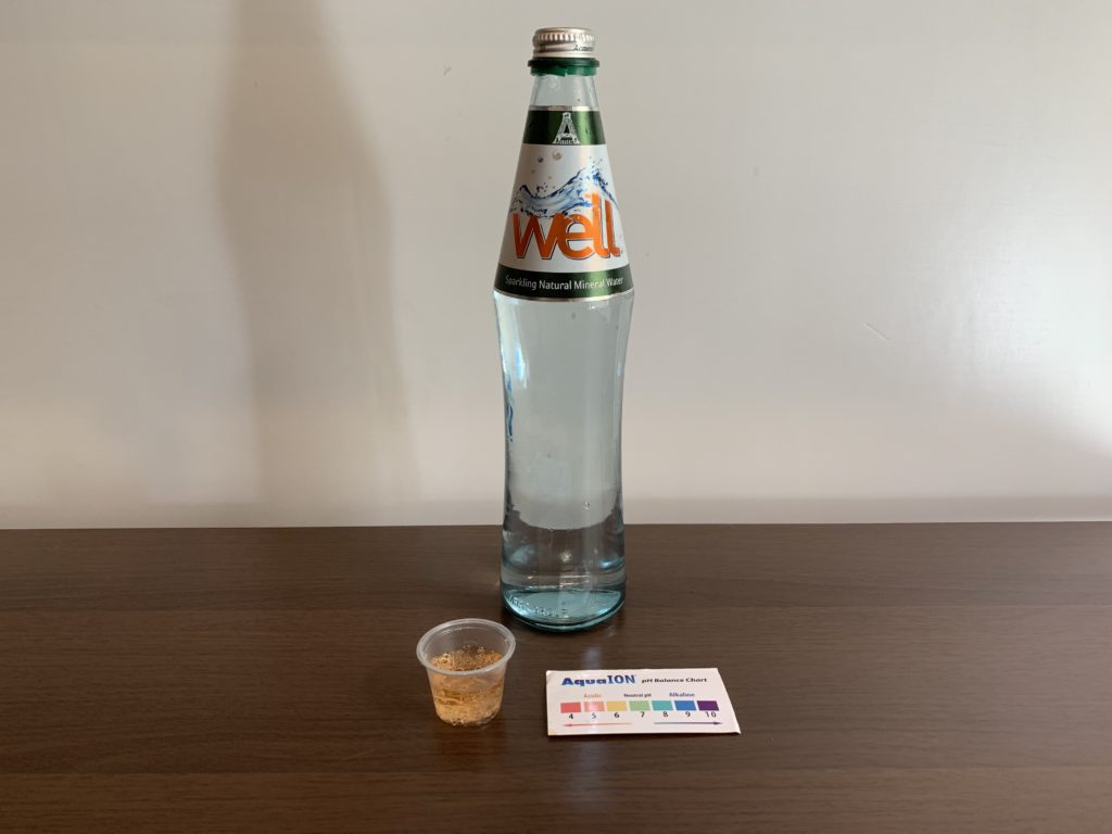Ararat Well Sparkling Water Test Results