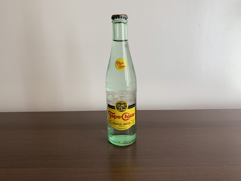 Topo Chico Water Test