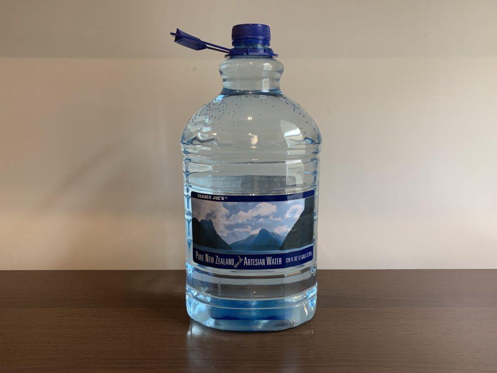 Trader Joes Artesian Water Test