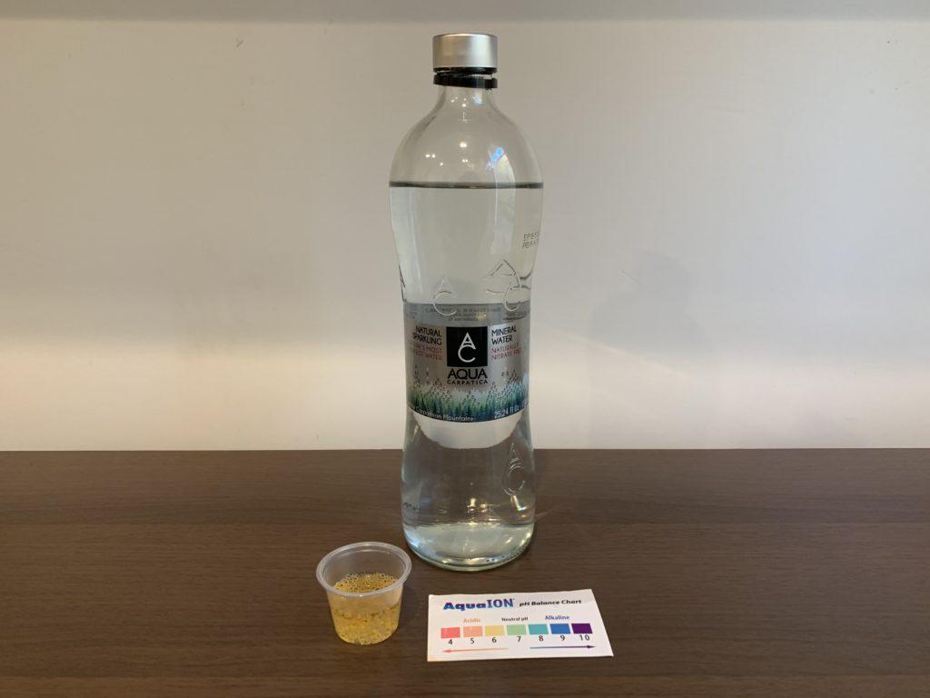 Aqua Carpatica Sparkling Water Test Results