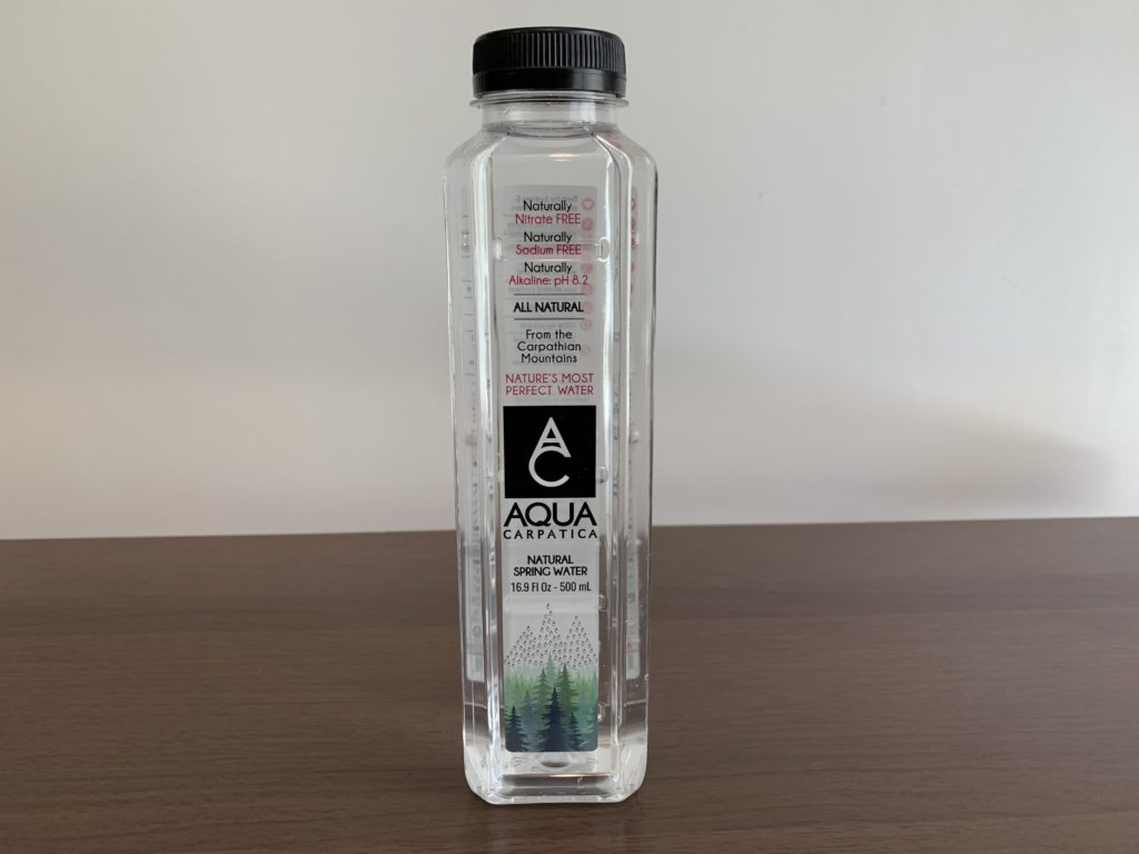 Aqua Carpatica Spring Water Test
