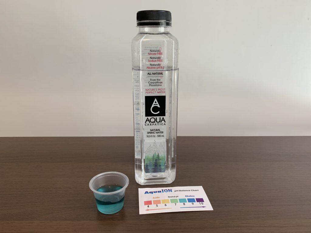Aqua Carpatica Spring Water Test Results
