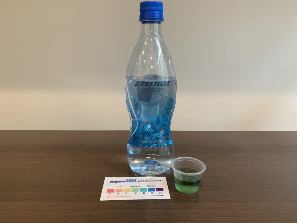Eternal Spring Water Test Results