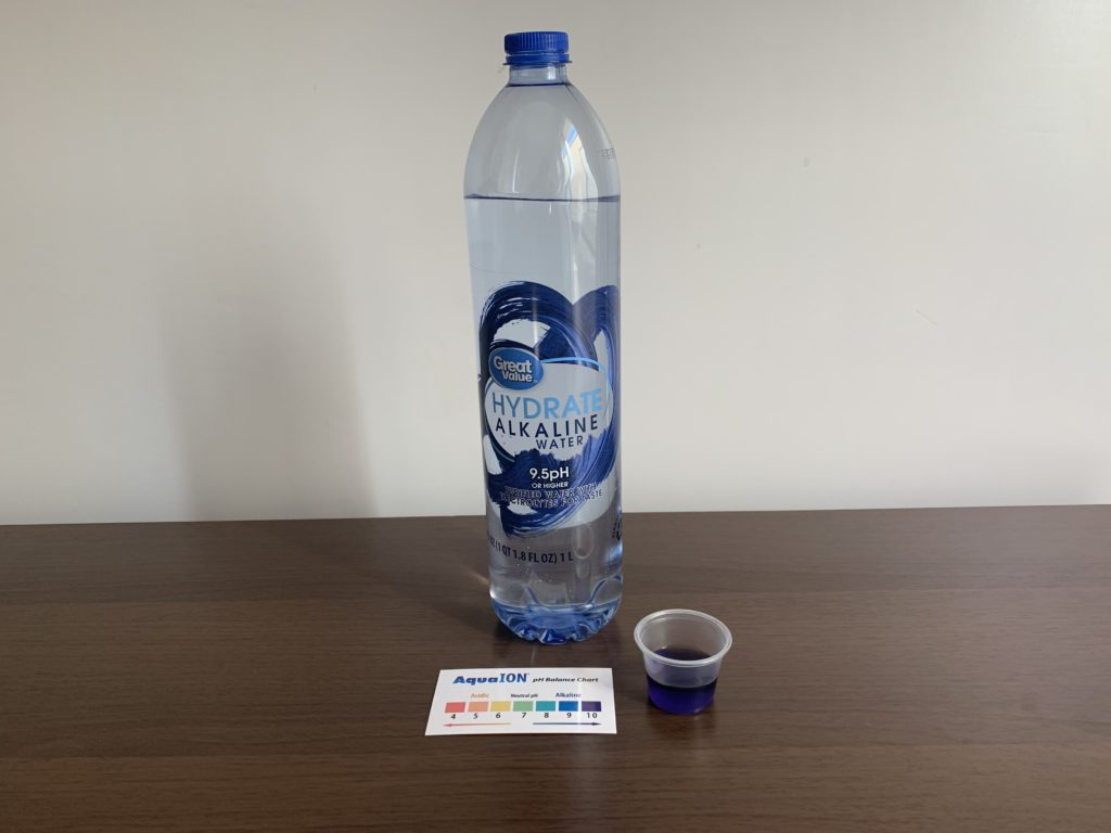 Great Value Hydrate Alkaline Water Test Results