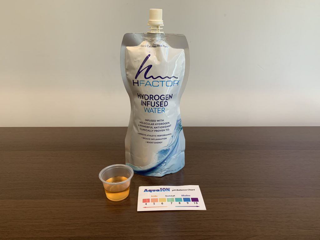 HFactor Water Test Results
