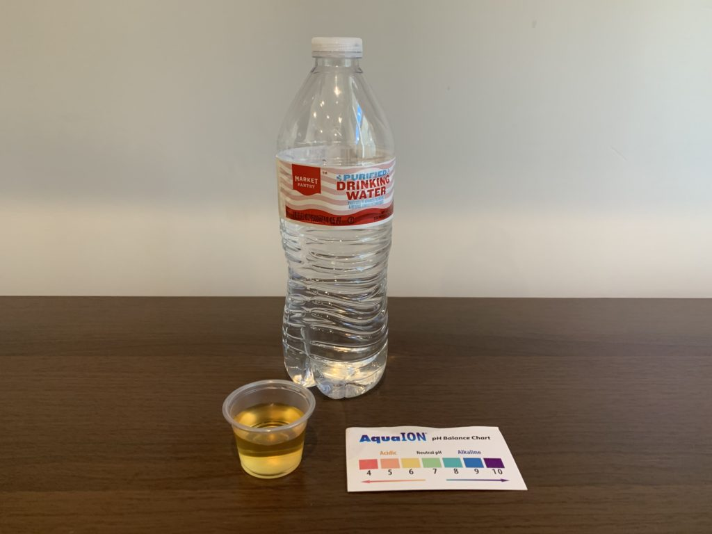Market Pantry Water Test Results