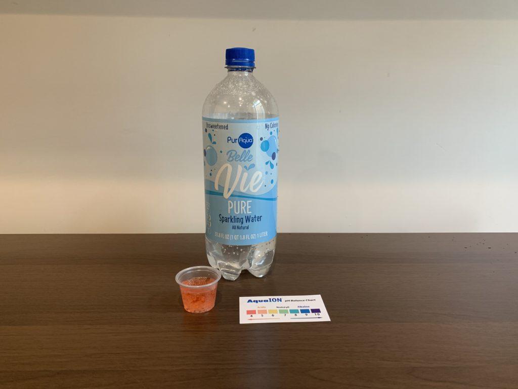 PurAqua Belle Vie Sparkling Water Test Results
