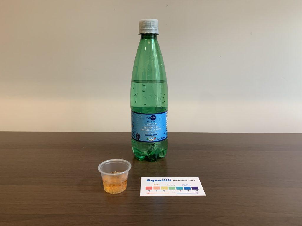 PurAqua Italian Sparkling Mineral Water Test Results