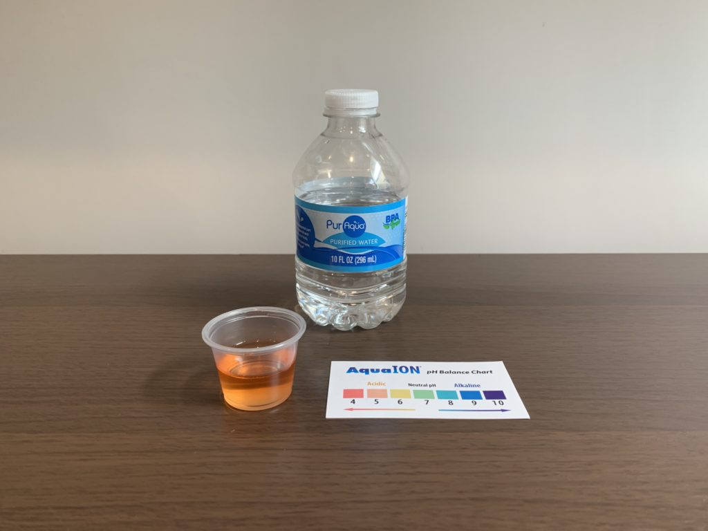 PurAqua Purified Water Test Results
