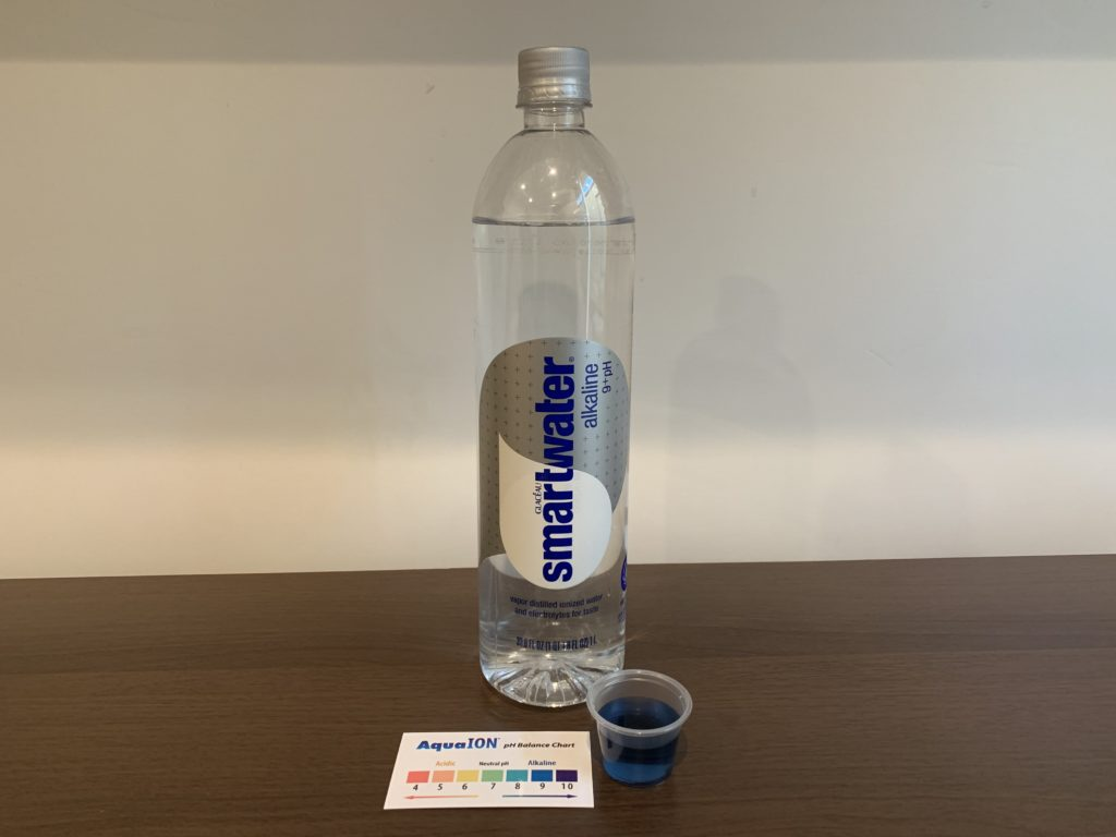 SmartWater Alkaline Water Test Results