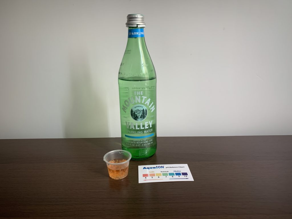 The Mountain Valley Sparkling Water Test Results
