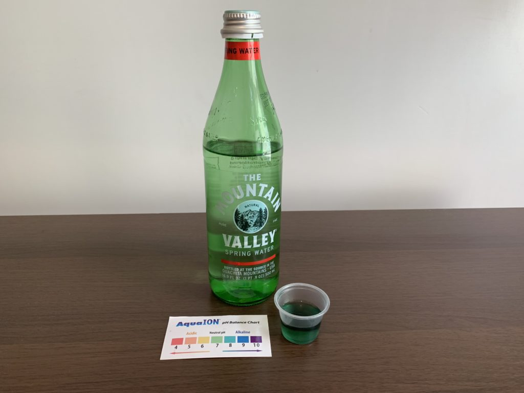 The Mountain Valley Natural Spring Water Test Results