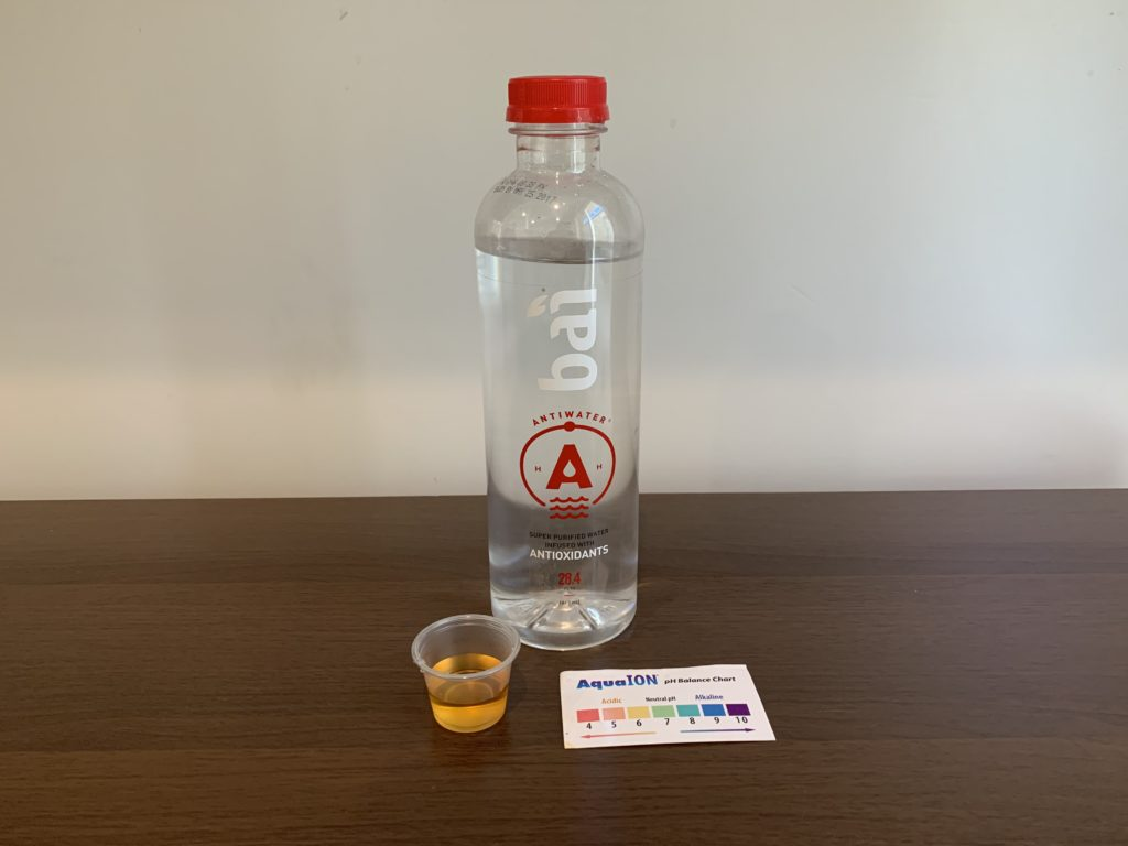 Bai Antiwater Water Test Results