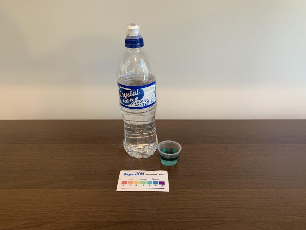 Crystal Lake Spring Water Test Results