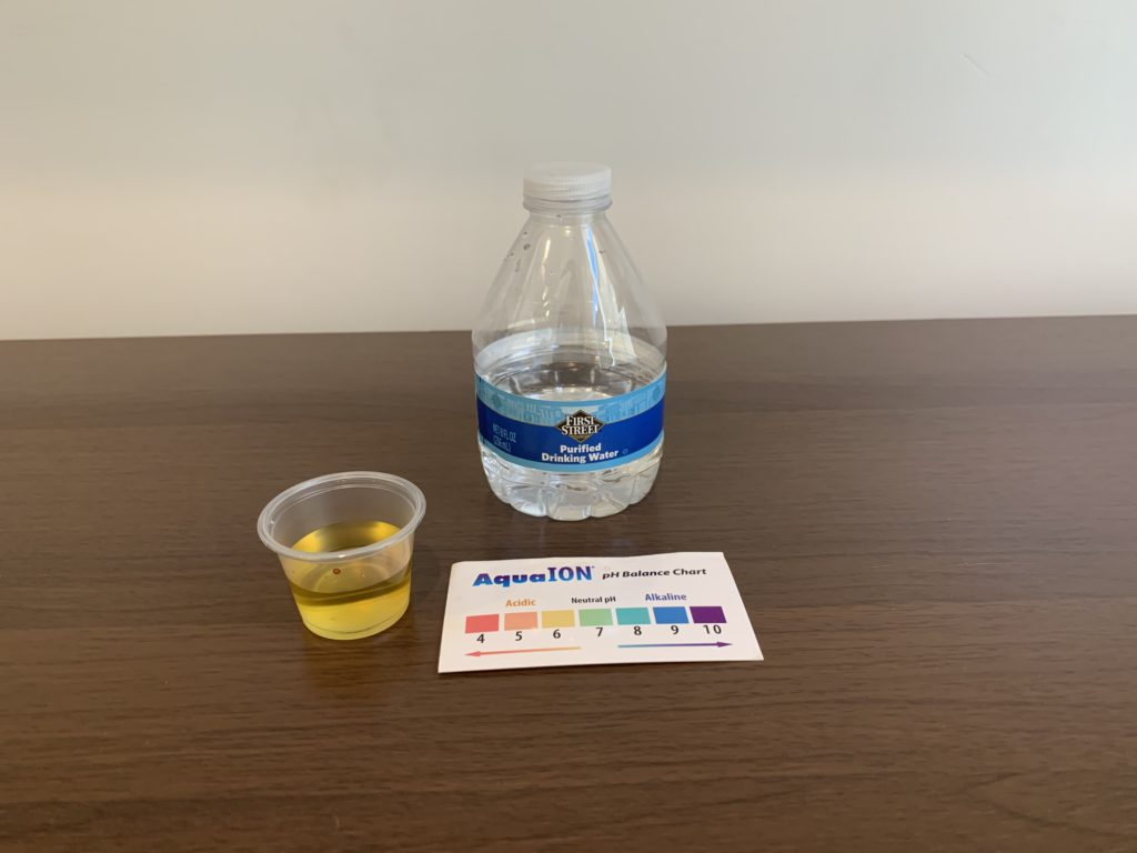 First Street Water Test  Results