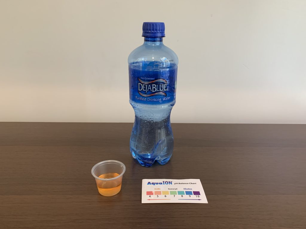DejaBlue Water Test Results