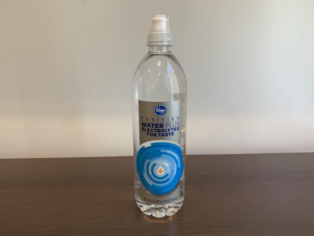 Kroger Electrolyte Water Test