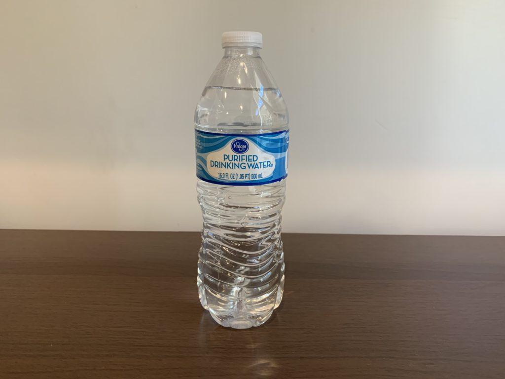 Kroger Purified Water Test