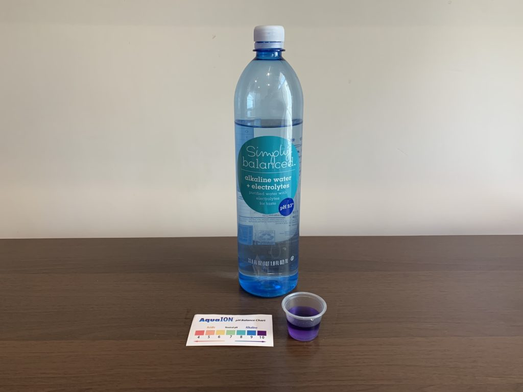 Simply Balanced Water Test Results