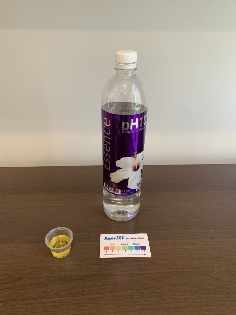 Essence Water Test Results