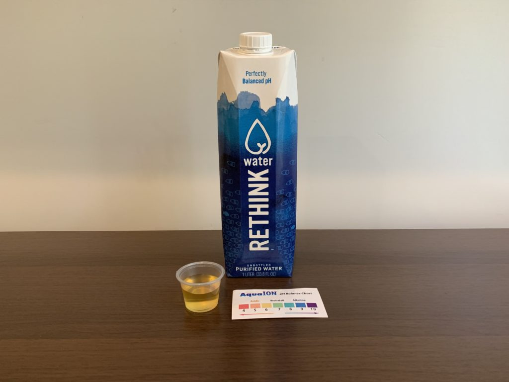 Rethink Water Test Results