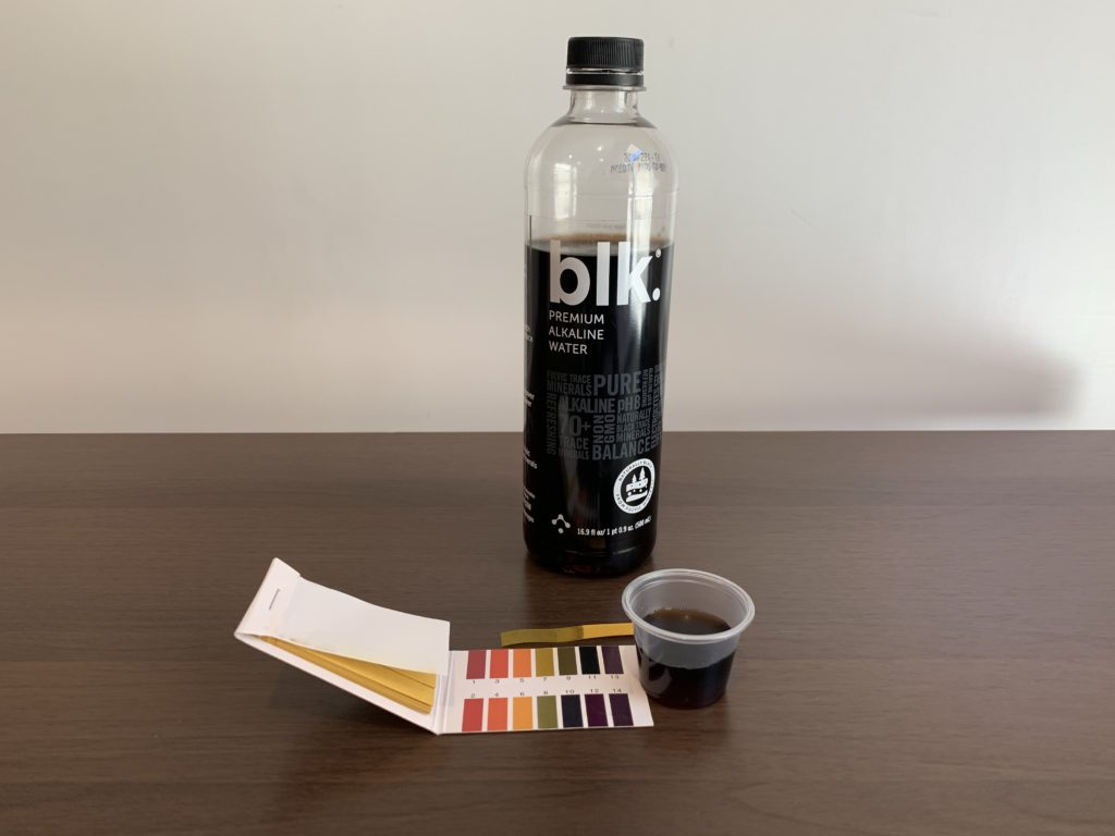 Blk Water Test Results